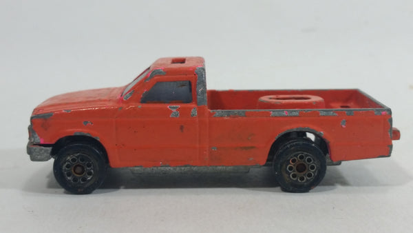 Rare Vintage Majorette Camping Car Truck Orange Die Cast Toy Car Vehicle No. 278 1/60 Scale