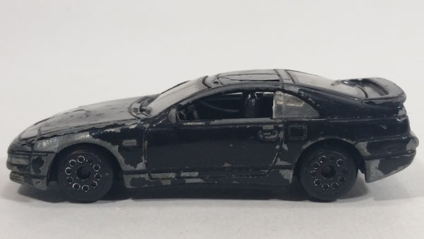 Motor Max 1996 Nissan 300ZX Black Die Cast Toy Sports Car Vehicle