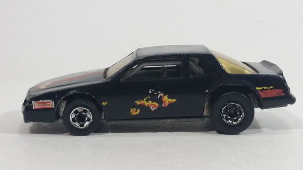 1989 Hot Wheels Speed Fleet Chevy Stocker Black Die Cast Toy Car Vehicle