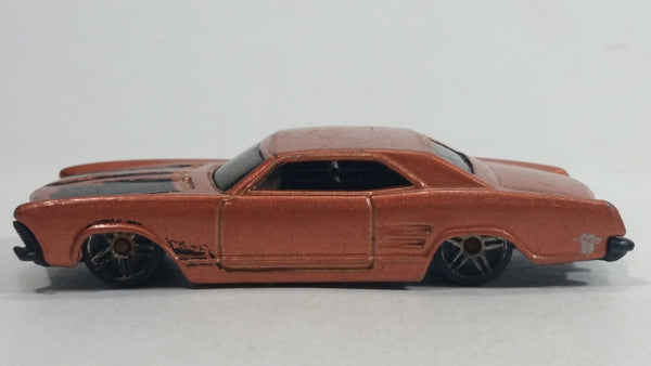 2005 Hot Wheels Muscle Mania '64 Riviera Metallic Copper Brown Die Cast Toy Muscle Car Vehicle