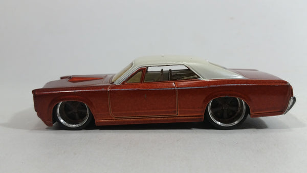 Hot Wheels G Machines '67 Pontiac GTO Metalflake Copper Brown and White 1/50 Scale Die Cast Toy Muscle Car Vehicle with Rubber Tires