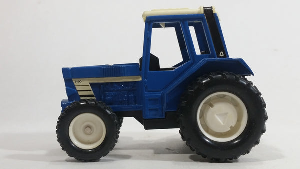 Blue and White 3180 Tractor Slow Gear Action Pullback Motorized Friction Die Cast Toy Farming Machinery Vehicle - Hong Kong