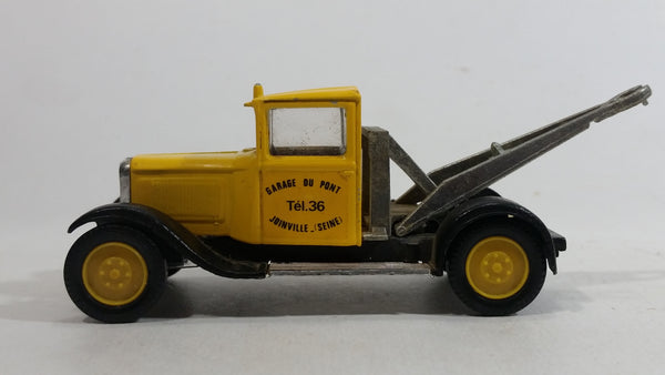 Solido 1930 Citroen C4F Tow Truck Yellow 1/43 Scale Die Cast Toy Car Vehicle Made in France