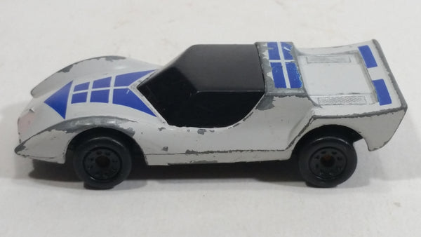 1985 Matchbox Super G.T. Gruesome Twosome White and Blue BR3/4 Die Cast Toy Car Vehicle