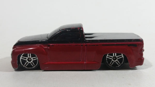 2005 Hot Wheels Twenty+ Switchback Dark Red and Black Truck Die Cast Toy Car Vehicle