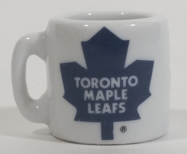 NHL Ice Hockey Toronto Maple Leafs Team Mini Miniature Ceramic Mug
