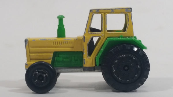Majorette Tracteur Tractor No. 208 Green and Yellow Die Cast Toy Farm Machinery Vehicle