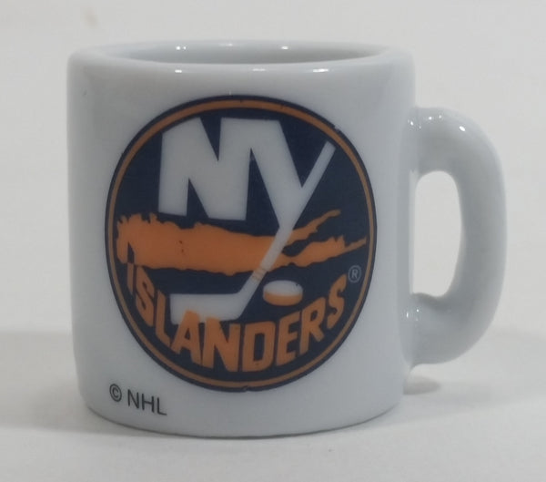 NHL Ice Hockey New York Islanders Team Mini Miniature Ceramic Mug