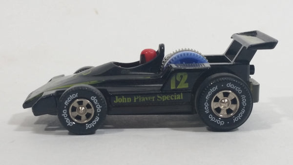 Darda Motors Formula 1 F1 John Player Special #12 Series 10 Black Die Cast Toy Car Friction Motorized Pullback Vehicle