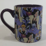 Disney Villains Character Collage Ceramic Dark Purple Coffee Mug Collectible