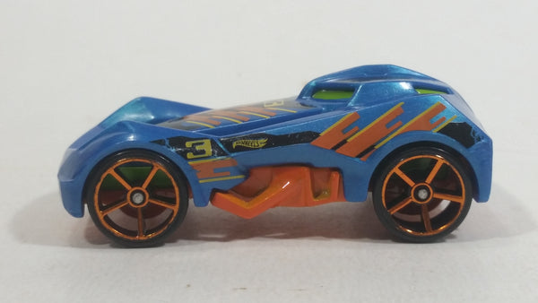 2017 Hot Wheels Multi-Pack Exclusive RD-03 Blue #3 Die Cast Toy Car Vehicle