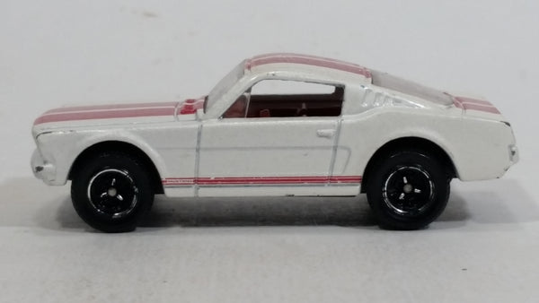 2010 Matchbox Classics '65 Mustang GT White Die Cast Toy Muscle Car Vehicle