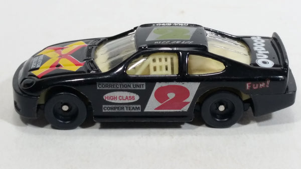 "City Kidz #2 Stock Car ""Wheaton College"" ""Pall Grace"" Black Die Cast Toy Race Car"