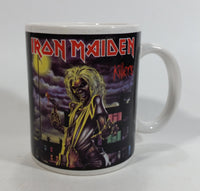 2010 Iron Maiden Killers Ceramic Coffee Mug Music Heavy Metal Band Collectible