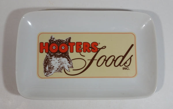 "Hooters Foods Inc. 6"" x 9"" Ceramic Serving Dish - Restaurant Collectible"