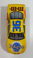 1998 Racing Champions Pontiac Grand Prix Pedigree Whiskas Nascar #36 M & M's Uncle Ben's Ernie Irvan Yellow Die Cast Toy Race Car Vehicle 1:24 Scale