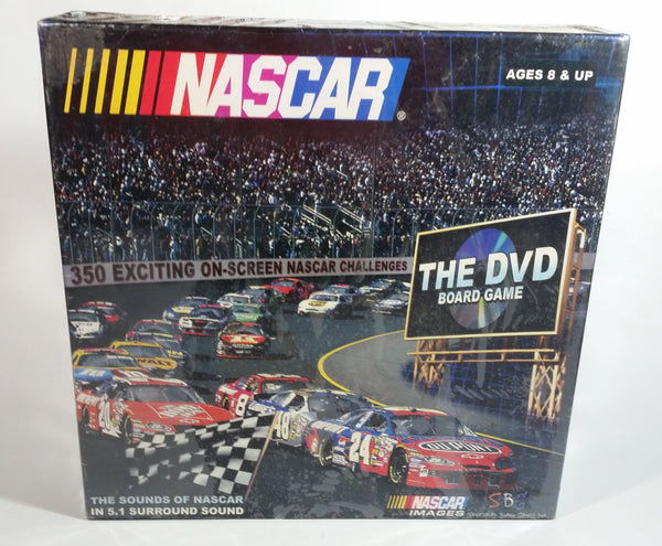 2005 NASCAR The DVD Board Game Never Opened Still Sealed