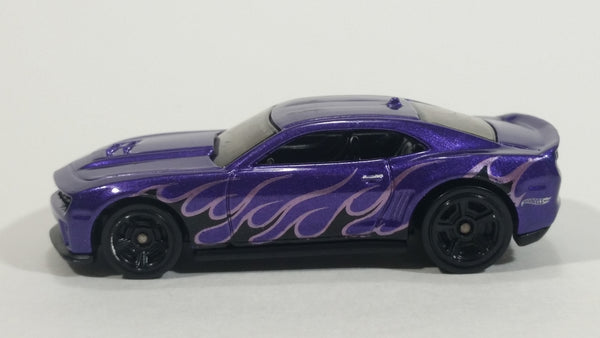 2016 Hot Wheels '12 Camaro ZL-1 Metalflake Purple Die Cast Toy Car Vehicle