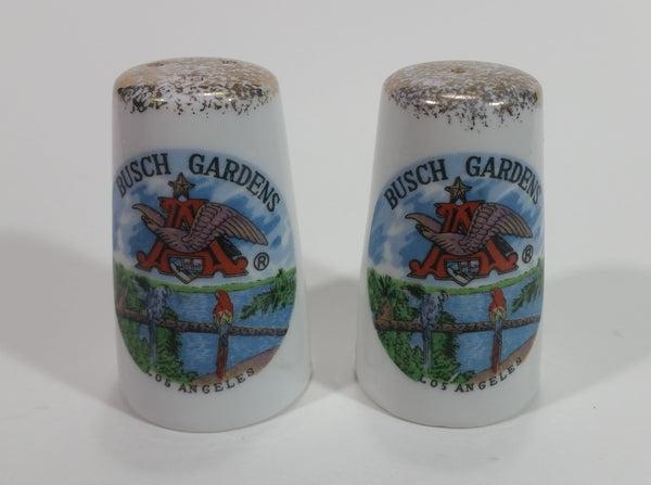 Kelvin's Treasure Busch Gardens Los Angels Salt and Pepper Shakers Souvenir Budweiser Beer Collectible