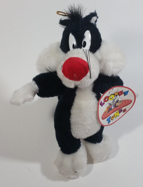 "1994 Ganz Warner Bros. Looney Tunes Sylvester The Cat Stuffed Animal Plush Plushy with Tags 10"" Tall"