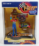 "1998 NASCAR 50th Anniversary Winner's Circle 1997 Champion Jeff Gordon 7 1/2"" Figure with 1/64 Scale Chevrolet Monte Carlo #24 Dupont Die Cast Toy Car Vehicle In Original Packaging"