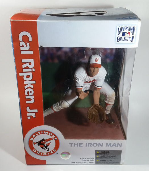 "2005 McFarlane Cooperstown Collection Cal Ripken Jr. #8 Baltimore Orioles MLB Team 12"" Tall Baseball Player Figure In Packaging"