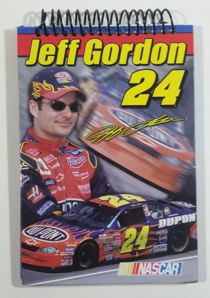 2003 Nascar Racing Driver Jeff Gordon #24 Race Car Dupont Coiled Notepad Paper Book Like New