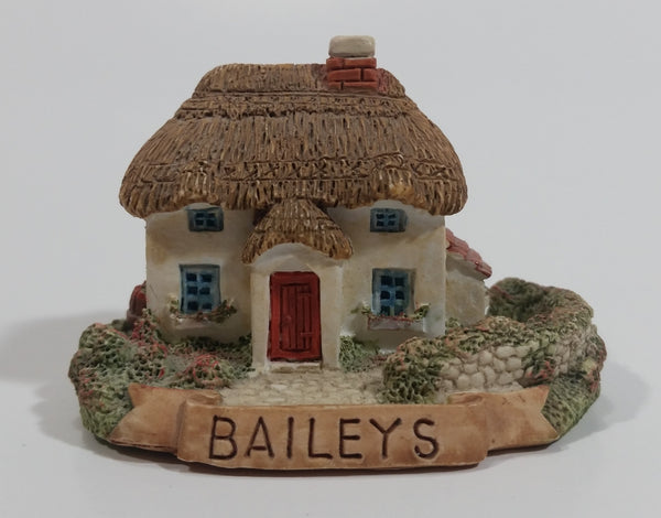 Baileys Miniature English Cottage House Building Resin Decoration