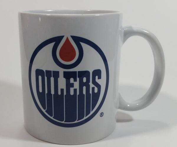Edmonton Oilers NHL Ice Hockey Team Ceramic White Coffee Mug Sports Collectible