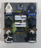 "ELBY Hockey Rules NHL Ice Hockey Vancouver Canucks Team Themed 4 1/4"" x ""5 1/4"" Resin 3D Decorative Picture Photo Frame"