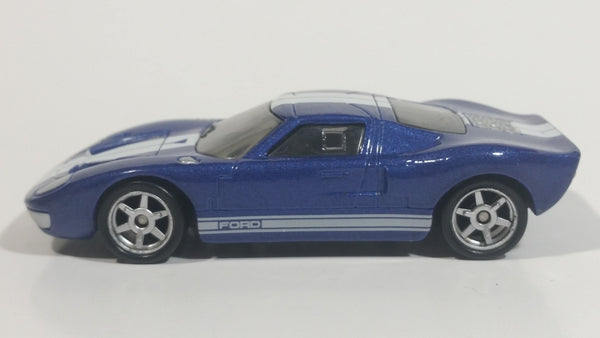 2016 Hot Wheels Fast and Furious Ford GT-40 Dark Blue Die Cast Toy Car Vehicle 1/55 Scale