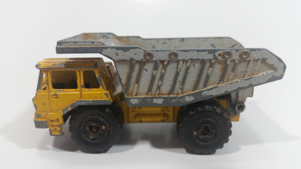 Majorette Benne Carriere Quarry Super Dump Truck No 274 Die Cast Metal Toy Truck