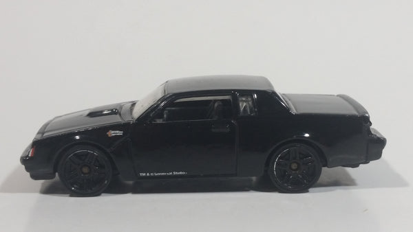 2015 Hot Wheels Universal Studios Fast & Furious Buick Grand National Black Die Cast Toy Car Vehicle Movie Film Collectible