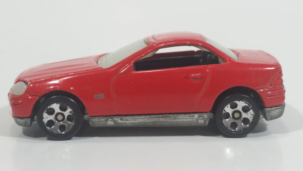 Rare 1997 Hot Wheels Mercedes SLK Red Die Cast Toy Car Vehicle
