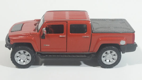 HTF Maisto Hummer H3T Copper Orange 1/47 Scale Die Cast Toy Car Vehicle with Opening Doors