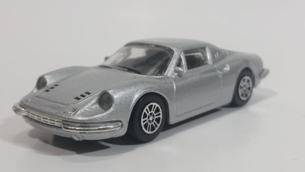 Burago Dino 246 GT Silver Grey 1/43 Scale Die Cast Toy Car Vehicle