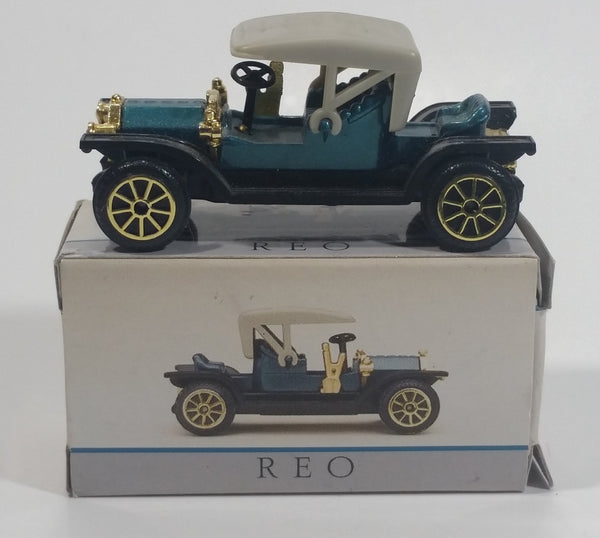Vintage Reader's Digest High Speed Corgi Reo Teal Blue No. 212 Classic Die Cast Toy Antique Car Vehicle