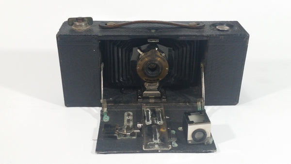 Antique 1909 Eastman Kodak Brownie Automatic No 2 A Folding Pocket Cam Treasure Valley Antiques Collectibles