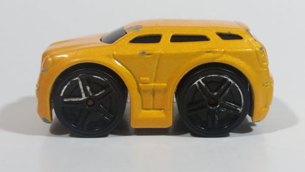 2005 Hot Wheels First Editions Blings Dodge Magnum R/T Metalflake Pearl Yellow Die Cast Toy Car Vehicle