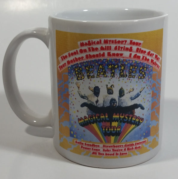 The Beatles Magical Mystery Tour Cover Art Ceramic Coffee Mug Cup Music Collectible