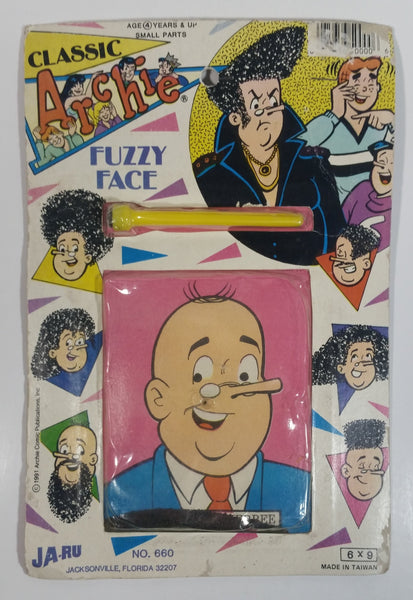 1991 Classic Archie Fuzzy Face Weatherbee JA-RU No. 660 in Package Sealed Never Opened