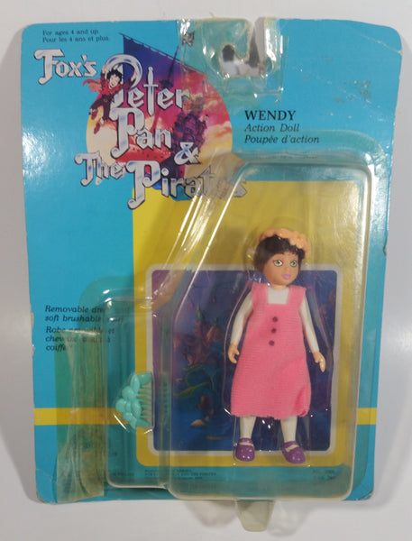 "1991 THQ (HK) Grand Toys Fox's Peter Pan & The Pirates ""Wendy"" Action Doll Character Toy in Package"