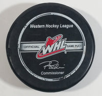 WHL Western Hockey League Brandon Wheat Kings Ice Hockey Team Official Game Puck Manitoba, Canada Sports Collectible