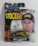 2003 Hot Wheels Racing NASCAR Stockerz DeWalt #17 Matt Kenseth Yellow and Black Die Cast Toy Race Car Vehicle New Sealed in Package