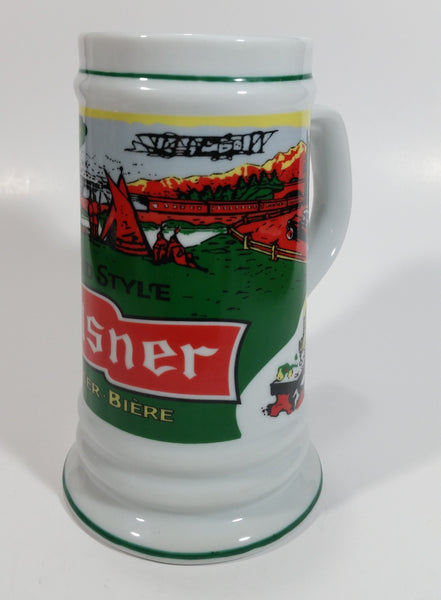 "Pilsner Old Style Beer Bunny Rabbit 6 1/4"" Tall Stein Mug Breweriana Collectible Drinkware"