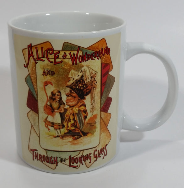 Alice In Wonderland And Through The Look Glass Ceramic Coffee Mug