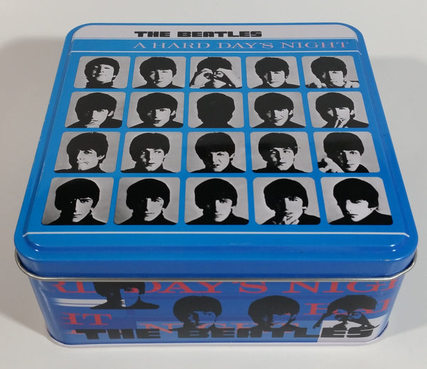 2002 The Beatles A Hard Days Night Tin Metal Container Music Band Collectibles - Empty Just the Tin