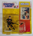 1994 Kenner Starting Lineup NHL Ice Hockey Player Pavel Bure Vancouver Canucks Old Jersey Action Figure and Trading Card in Package