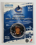 2006 - 07 The Province Time Colonist NHL Ice Hockey Mini Puck Collection Vancouver Canucks Ryan Kesler New sealed in Package