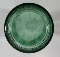 Japanese Coca-Cola Coke Cola Soda Pop 190mL Heavy Green Glass Bottle - White Letters